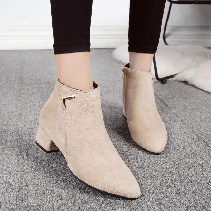 Giày boot nữ MWC NUBO- 4065