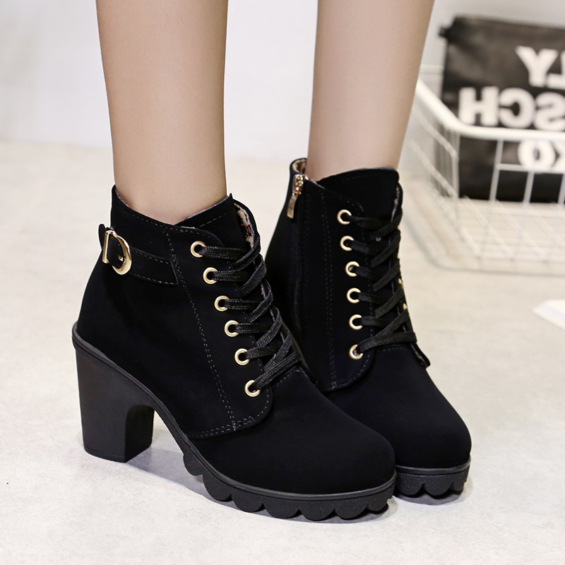 Giày boot nữ MWC NUBO- 4022