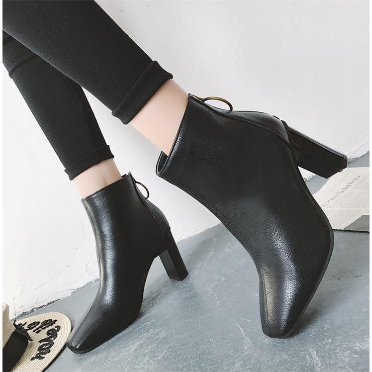 Giày boot nữ MWC NUBO- 4076