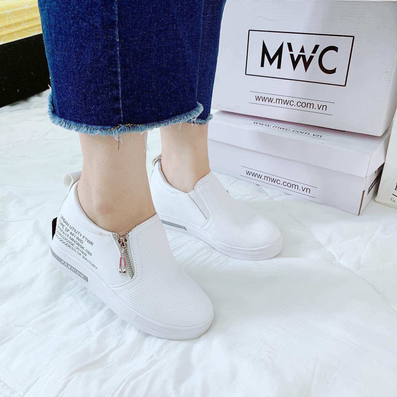 Giày Slipon nữ MWC NUSL- 1552