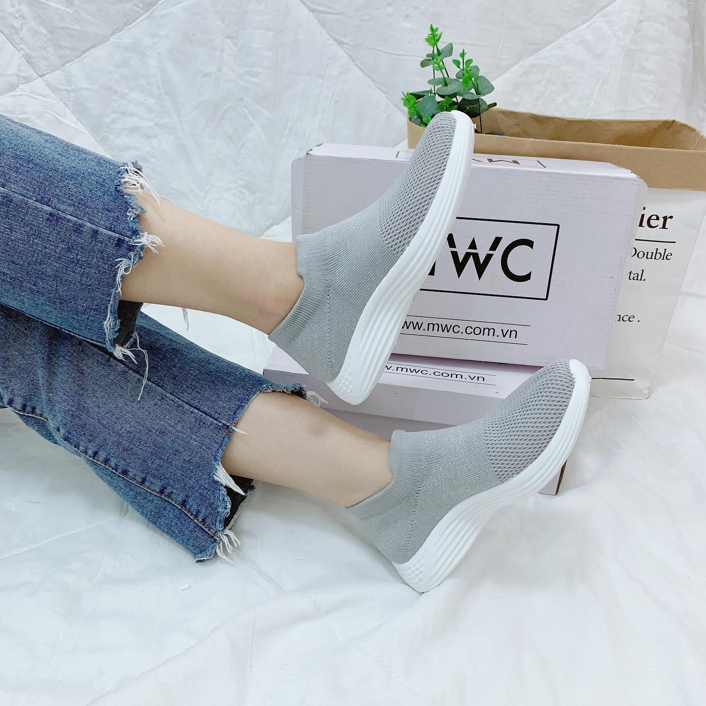 Giày Slipon nữ MWC NUSL- 1567