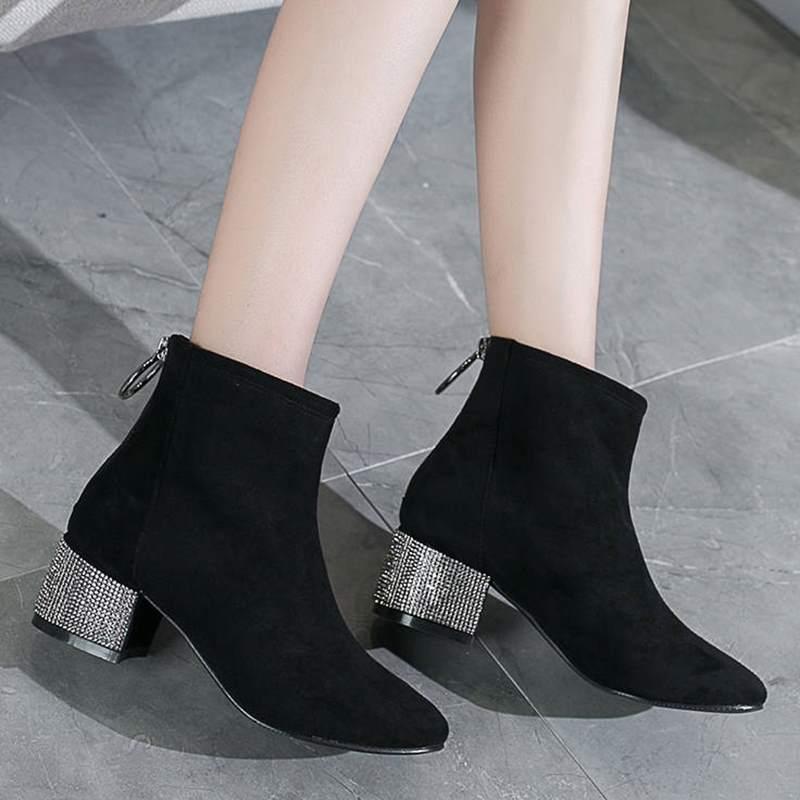 Giày boot nữ MWC NUBO- 4081