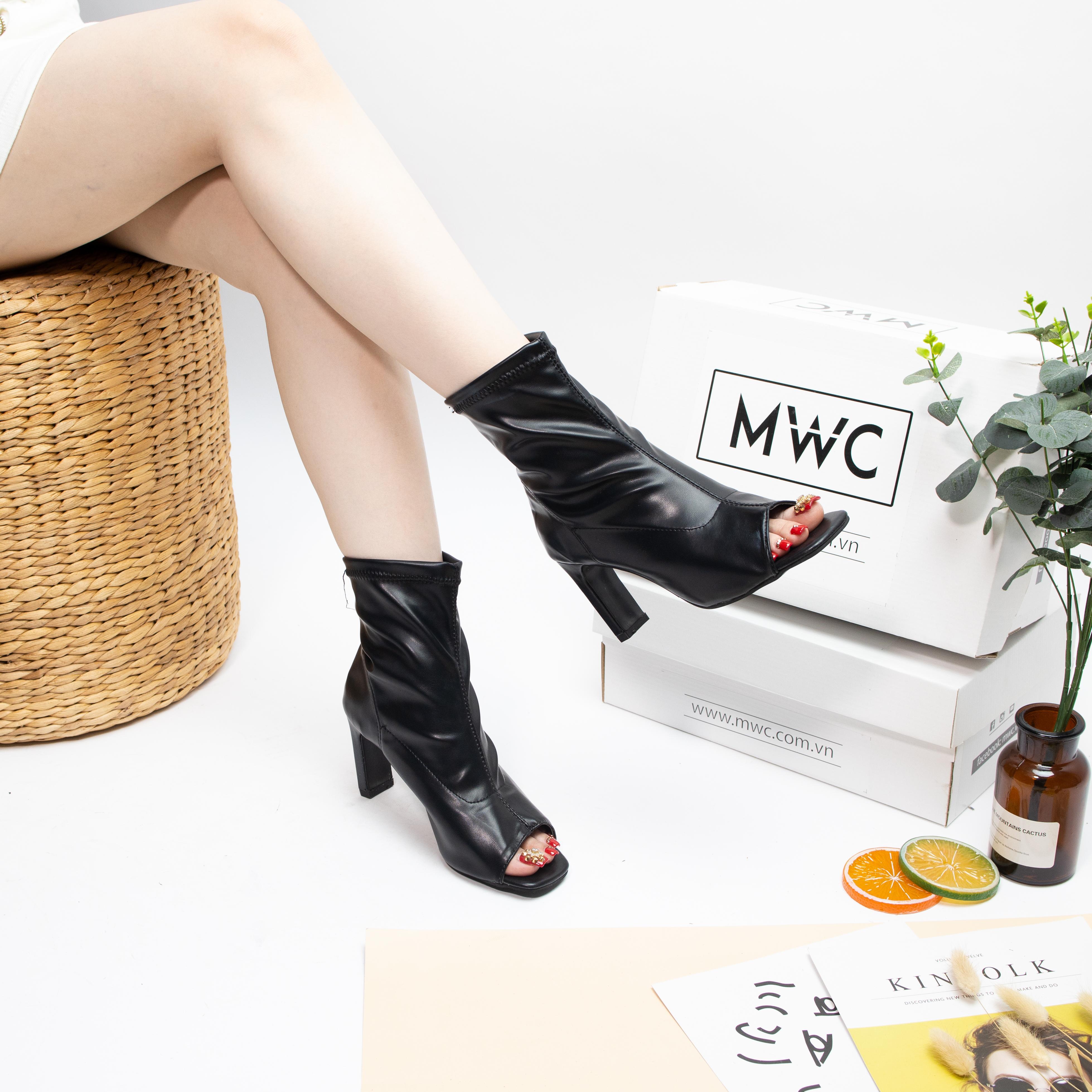 Giày boot nữ MWC NUBO- 4082