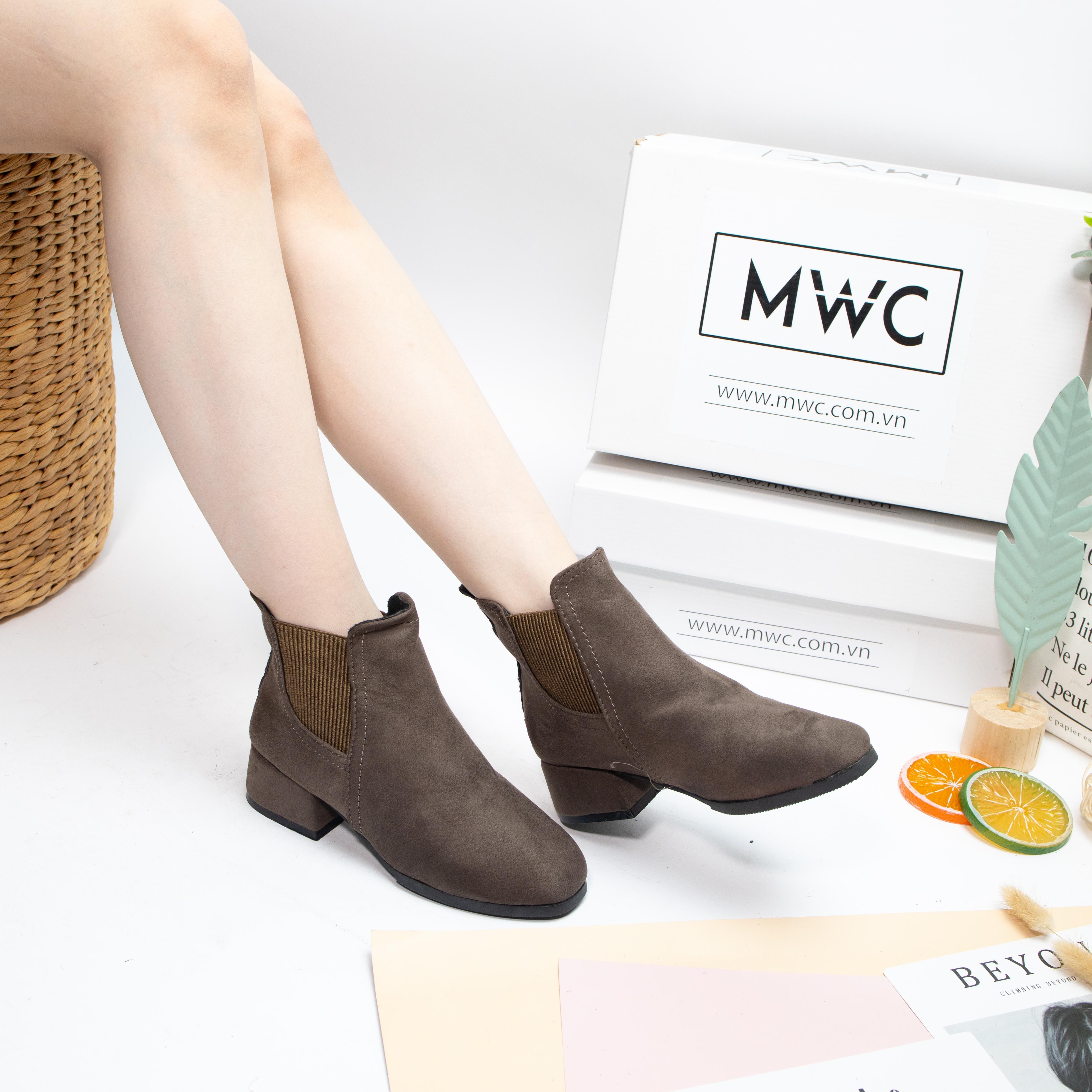 Giày boot nữ MWC NUBO- 4083