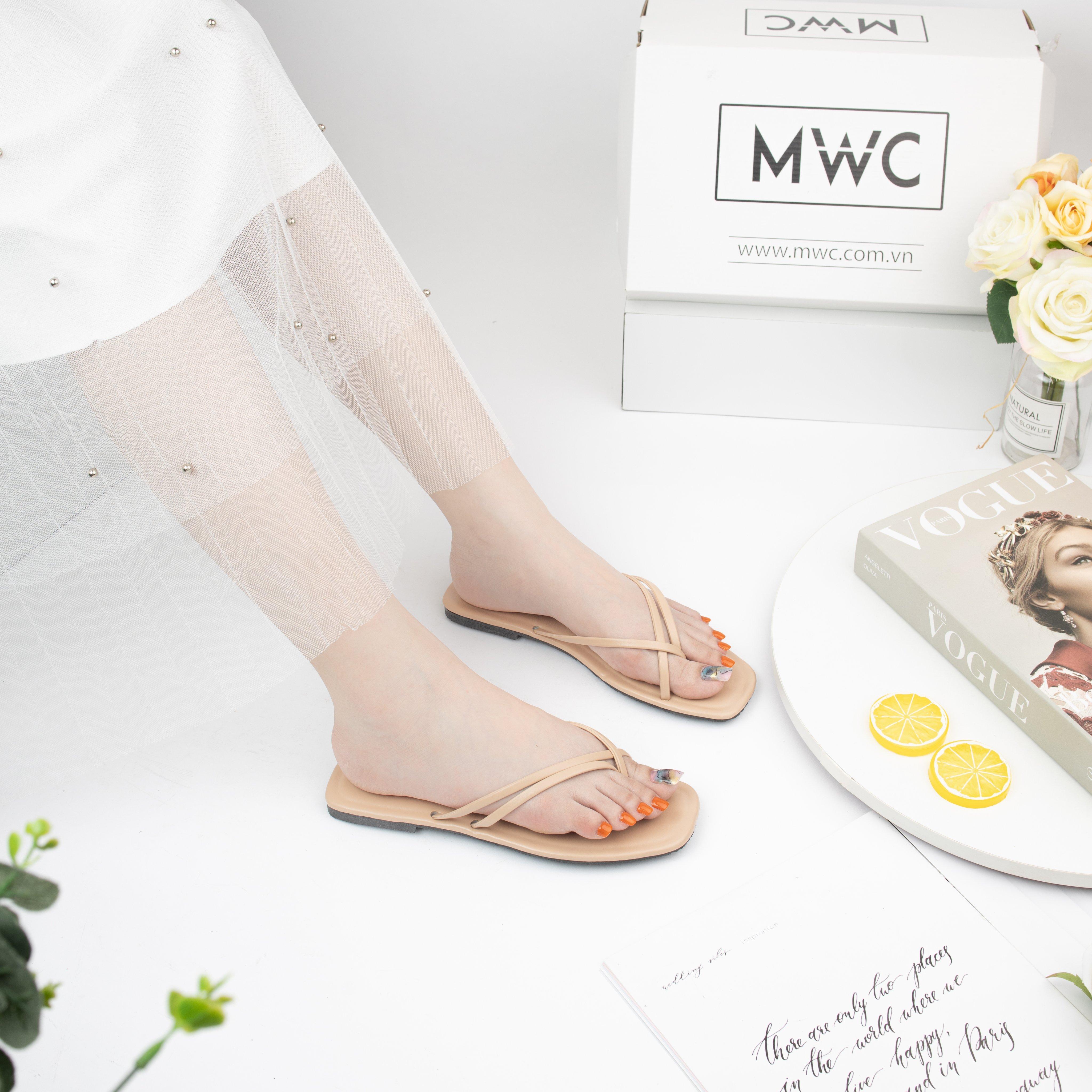 Dép nữ MWC NUDE- 3372