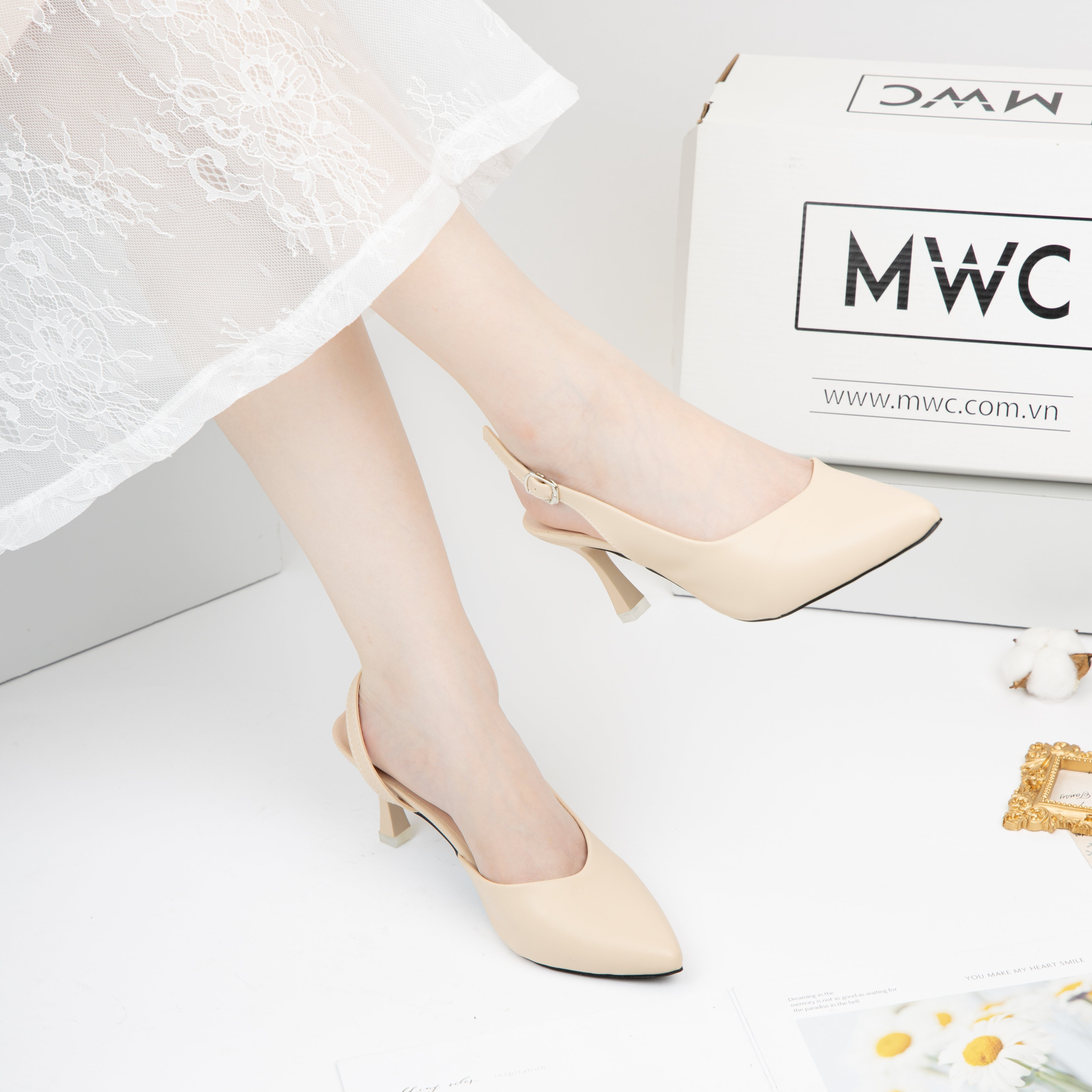 Giày cao gót MWC NUCG-4113