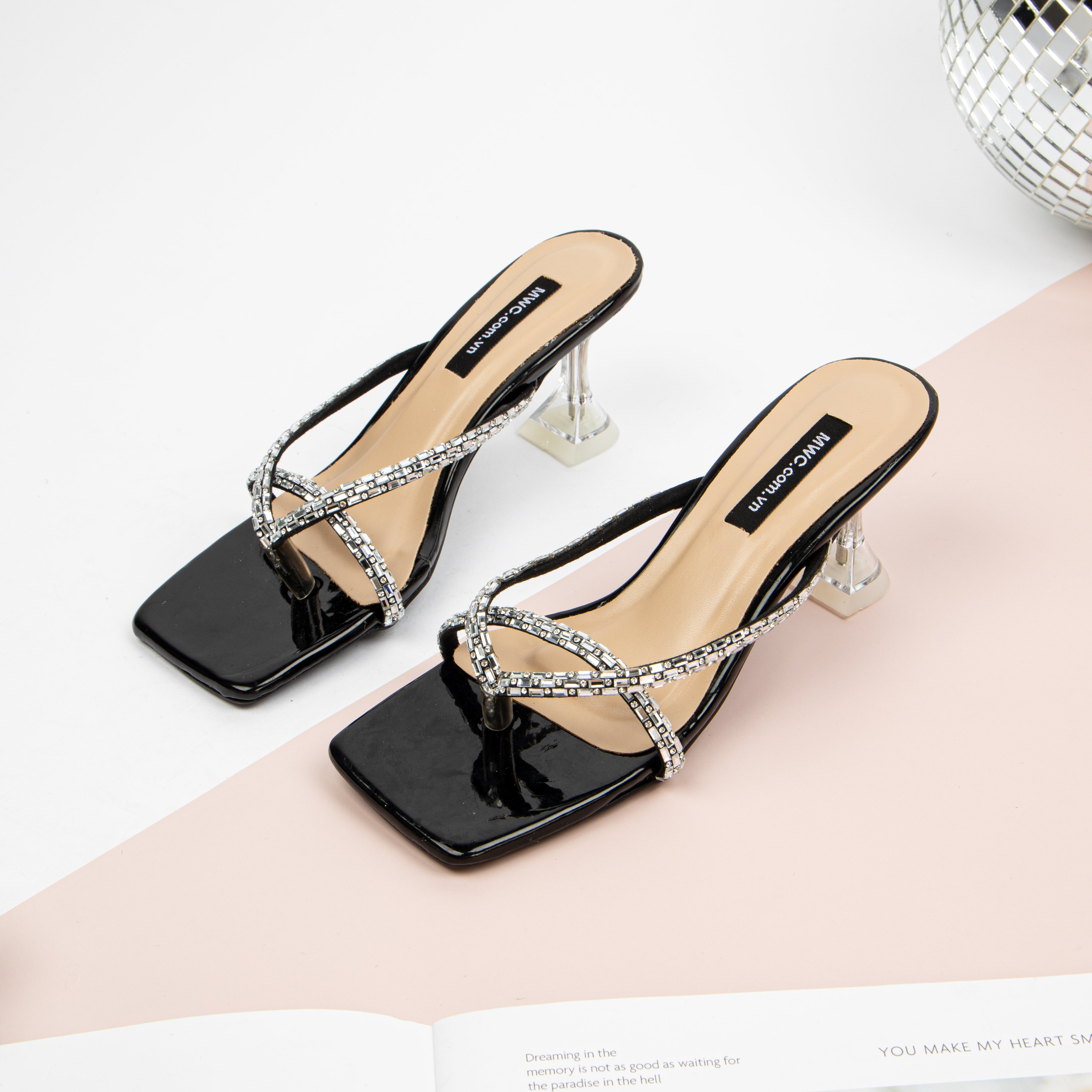 Giày cao gót MWC NUCG-4155