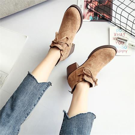 Giày boot nữ MWC NUBO- 4063