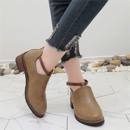 Giày boot nữ MWC NUBO- 4545