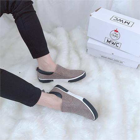Giày Slipon nam MWC NASL- 6049
