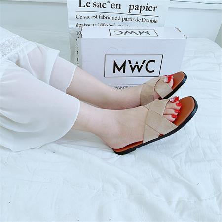 Dép nữ MWC NUDE- 3215