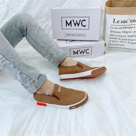 Giày Slipon nam MWC NASL- 6052