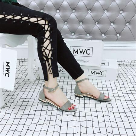 Giày sandal nữ MWC NUSD- 2604