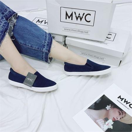 Giày Slipon nữ MWC NUSL- 1533