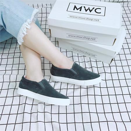 Giày Slipon nữ MWC NUSL- 1546