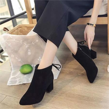 Giày boot nữ MWC NUBO- 4044