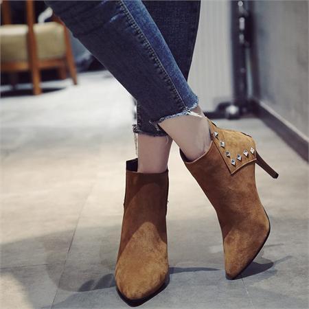 Giày boot nữ MWC NUBO- 4047