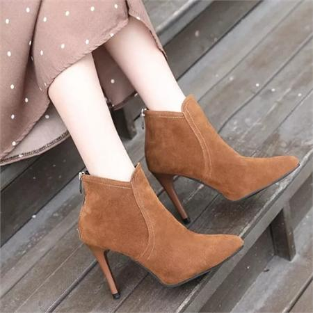Giày boot nữ MWC NUBO- 4046
