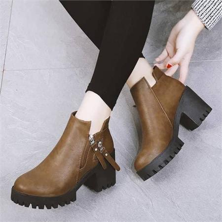 Giày boot nữ MWC NUBO- 4045