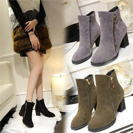 Giày boot nữ MWC NUBO- 4049