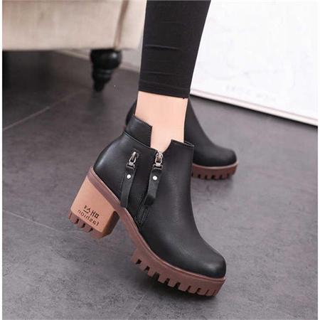 Giày boot nữ MWC NUBO- 4048