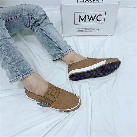 Giày Slipon nam MWC NASL- 6045