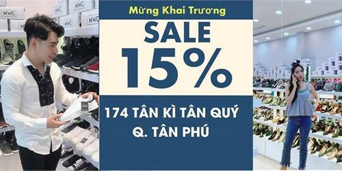 KHAI TRƯƠNG MWC TÂN PHÚ- BIG SALE ĐẾN 50%