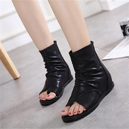 Giày boot nữ MWC NUBO- 4074